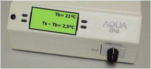 AquaLab S3TE protocolo actividad de agua
